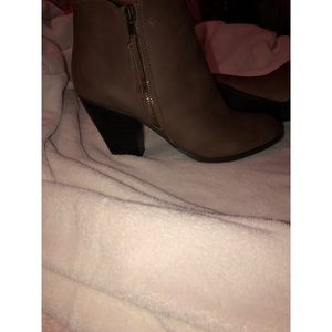 Charlotte Russe Shoes - Brown Booties